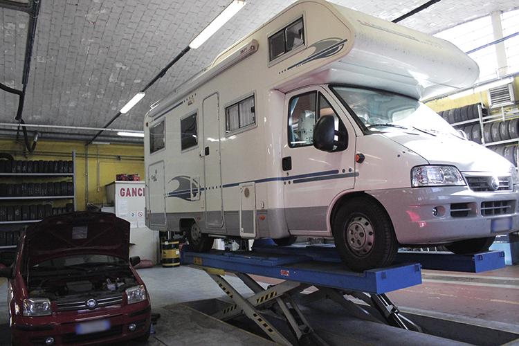 villa servizi autoriparazioni camper